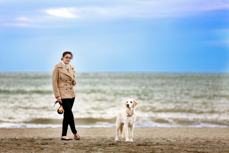 Nana y #lunachan un domingo cualquiera en la playa