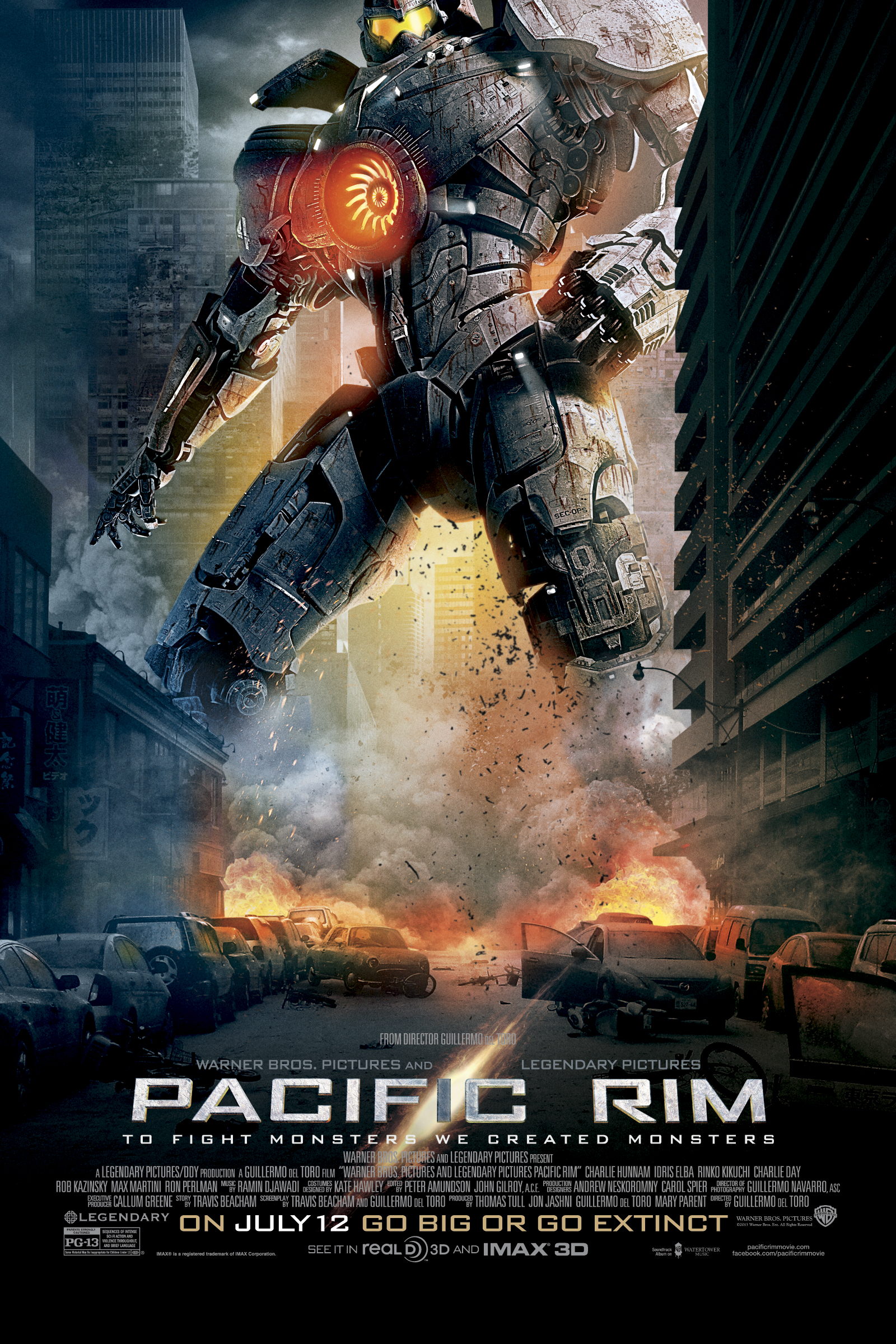 Cartel de Pacific Rim